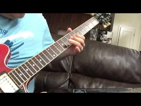 Chris Cain guitar licks - Lesson 1