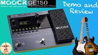 Mooer GE 150: Demo / Review (demo song, extensive sound test and...firmware update procedure)