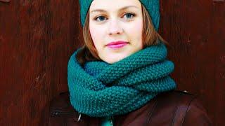 СНУД СПИЦАМИ. Вязание. Knit Mom. мк knitting crochet мастер-класс своими руками узоры спицами одежда