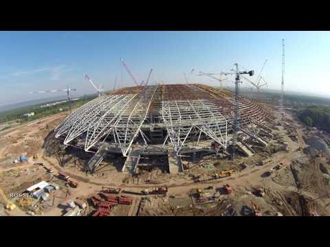 Строительство стадиона #Cамара Арена / 17.07.2017 #Samara #Russia