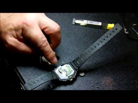 How to change a casio 100m watch battery youtube for Watches battery