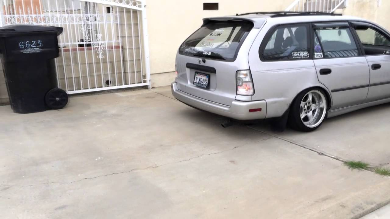 Lalalatomi Slammed Corolla Wagon Youtube
