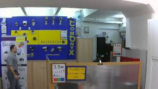 Видео с миниатюрных IP-камер CO-i13MY1P(HD) и CO-i13MY1W(HD). ОФИС день(, 2014-02-06T09:42:08.000Z)