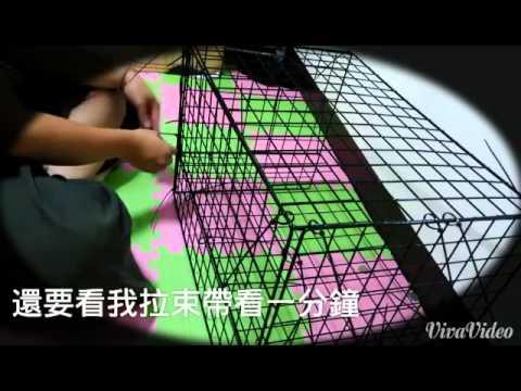 DIY 天竺鼠 籠子 簡易版 字幕廢話 - YouTube