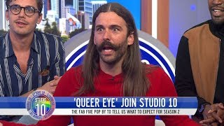 How Well Do 'Queer Eye's' Fab 5 Know Aussie Slang? | Studio 10