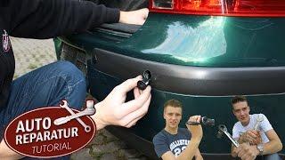 Einparkhilfe nachrüsten | PDC einbauen Golf 4 IV | park distance control | DIY Tutorial