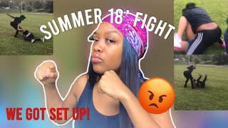 STORYTIME: my first fight|| we got set up (+footage)