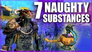 Elder Scrolls - 7 Naughty Substances - Elder Scrolls Lore