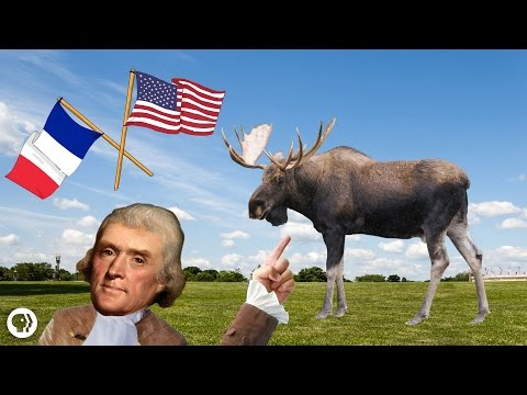 Thomas Jefferson And The Giant Moose