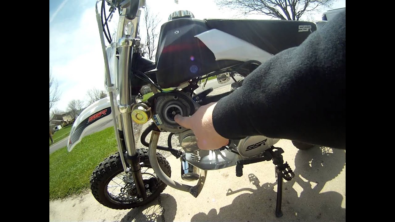 Short Walkaround Of The Turbo Pitbike Project Youtube