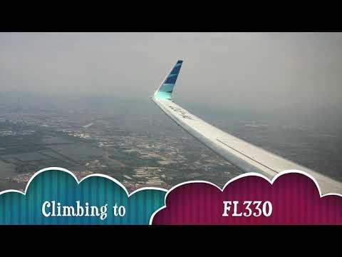 #1Garuda Indonesia Flight Experience: Jakarta - Banjarmasin