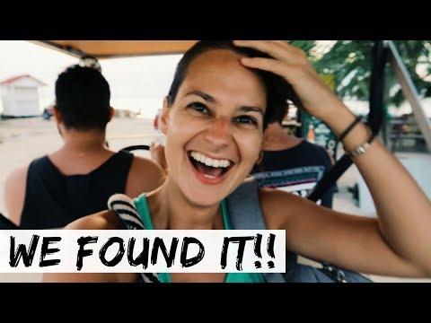 Secret Beach, LEO'S ISLAND, and the KEY!! Belize Travel Vlog Day 6