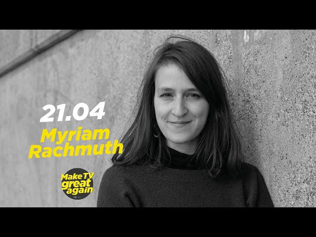 Make TV Great Again S1 E34 - Tonight  Myriam Rachmuth