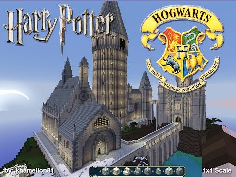 MINECRAFT HOGWARTS School of Witchcraft and Wizardry
