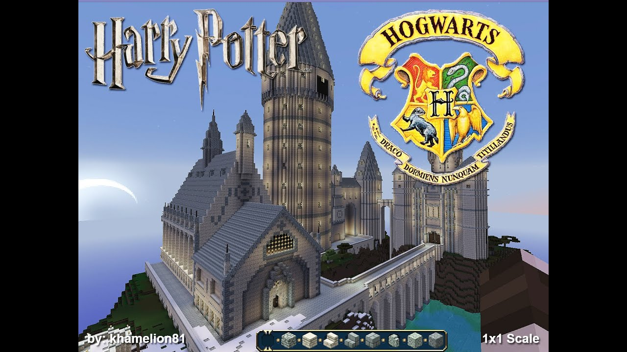 Hogwarts Floor Plan Minecraft Hogwarts School Of Witchcraft And Wizardry Youtube