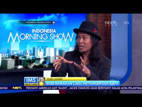 Robi Navicula Menjadi Wakil Young Leaders di Asia 21 - Talk Show at IMS NET