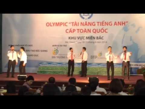 """Chương trình văn nghệ chào mừng Olympic """"Tài năng tiếng Anh"""