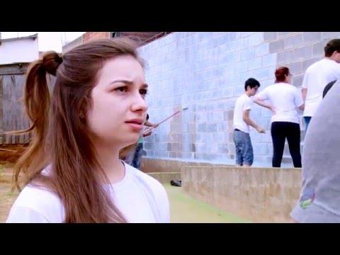 Trote com Pintura Solidária - 123º Programa TV Facens