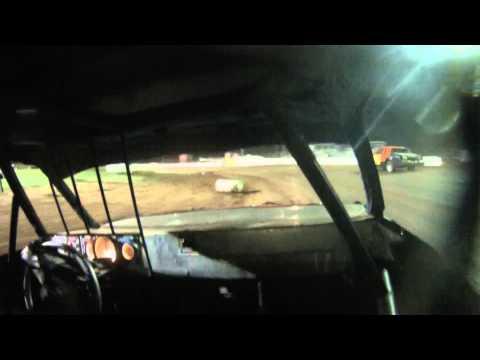 Abilene Speedway IMCA Hobby Stock A Main 6-20-15