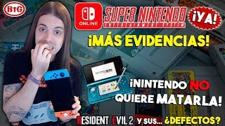 ¡REAFIRMAN que SNES LLEGARÁ PRONTO a SWITCH! | Nintendo NO ENTIERRA a 3DS | Resident Evil 2 ¿BUGS?