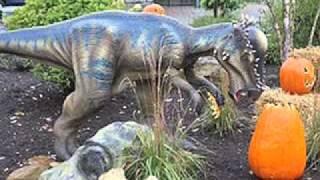Canada's Wonderland Dinosaurs Alive 2012