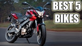 Best 5 Performance And Fun Bikes Under Rs 1 Lakh !