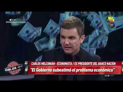 Para Melconian, el gobierno subestimó los problemas económicos