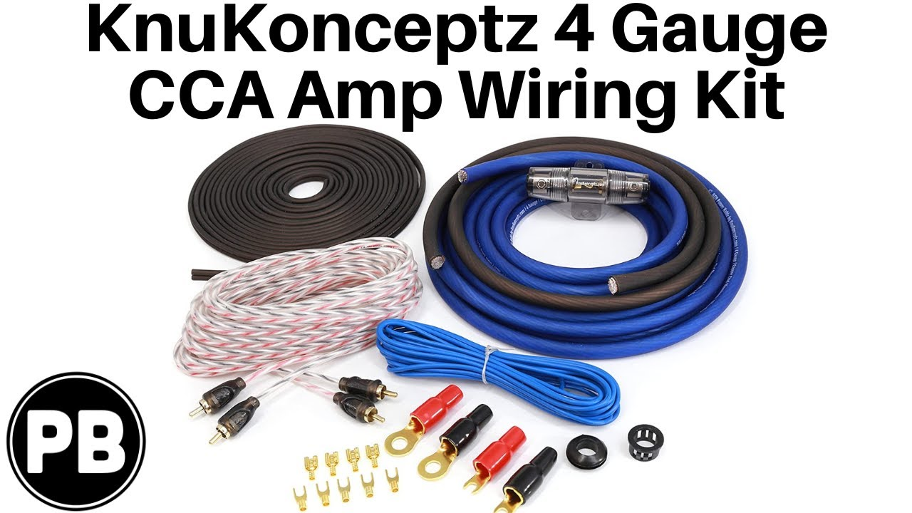 Vibe Slick Amplifier Wiring Kit Instructions Gauge Amp Installation Power Ofc Ebay Knukonceptz 4 Unboxing 720