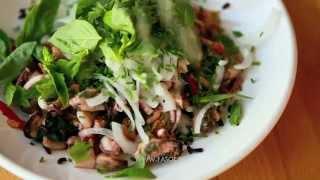 Салат с морепродуктами (Insalata di mare)