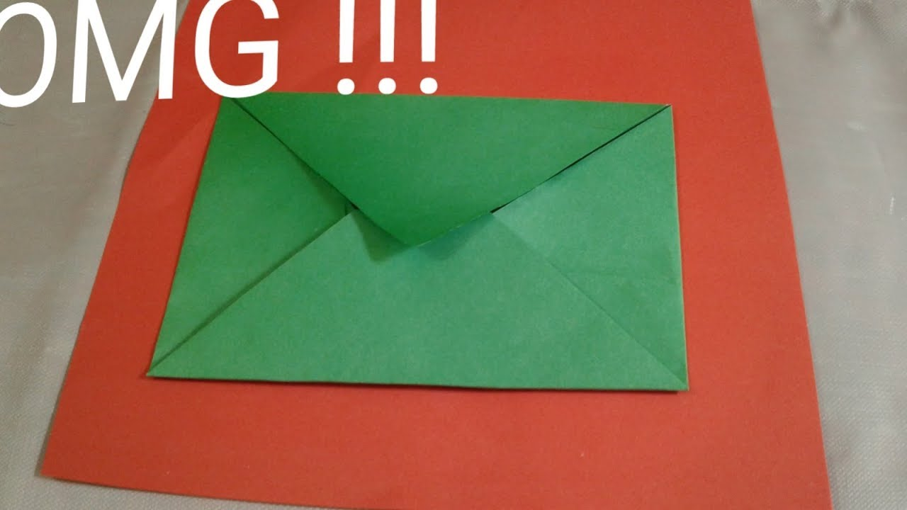 How To Make Amazing Paper Envelope Nice Paper Kham Best Idea With Paper Diy Arts And Crafts Idea Youtube