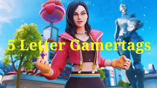 5 Letter Gamertags Not Taken 2019 Xbox