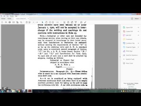ARA CODE OF RULES INTERCHANGE M C B  GOVERNING REPAIRS002
