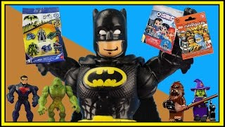 TREASURE HUNT #6!  Batman Unlimited Mighty Minis Series 4 DC Ooshies Lego Minifigures OzToyReviews