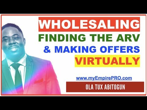 REAL ESTATE WHOLESALING | Determining ARV & Making Offers Without Knowing Repairs