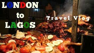 LONDON TO LAGOS TO ABA    TRAVEL VLOG    FELABORATION 2017 SNIPPPET