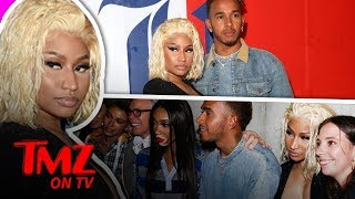Nicki Minaj Cuddled With Possible New Man | TMZ TV