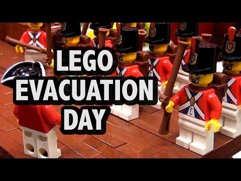 LEGO Evacuation Day | American Revolutionary War 1776