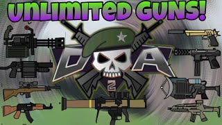 How To Spawn Unlimited Guns In Mini Militia💪