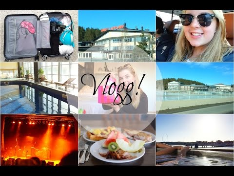 ♥ Vlogg, Hotellweekend! - Packning, resa, spa, konsert, middag, haul. |Johanna Lind