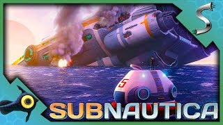 EXPLORING AND REPAIRING THE AURORA! - Subnautica - Full Release [Gameplay E4]