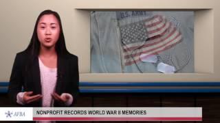Nonprofit records World War II memories