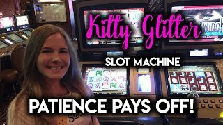 FINALLY got the BONUS on Kitty Glitter! Slot Machine! Was it Worth it?