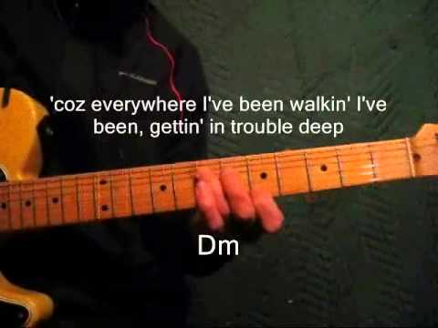 Doug Seegers Going Down To The River Lead Guitar Chords Lyrics