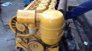 Deutz 6 cyl diesel engine