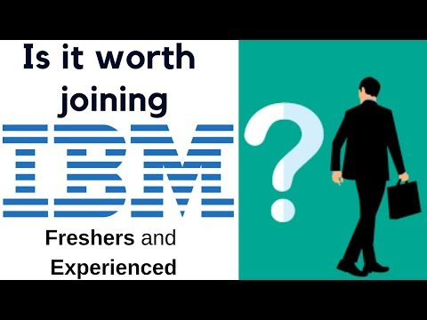 Is It Worth Joining IBM? Comparison With Cognizant,Accenture,Infosys,TCS,Wipro