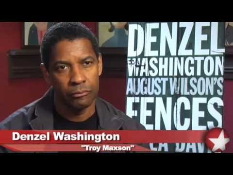 """Fences"" on Broadway Starring Denzel Washington and Viola Davis"