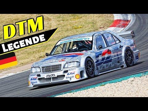 """Mercedes-Benz AMG W202 C-klasse DTM/ITC """"D2"""" (1994) - 11.500 rpm V6 N/A Engine Sound at Nürburgring!"""