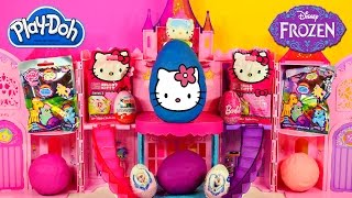 EGGS FROZEN BARBIE HELLO KITTY PLAY DOH MY LITTLE PONY DISNEY PRINCESS ZELF Kinder Surprise Egg Toys