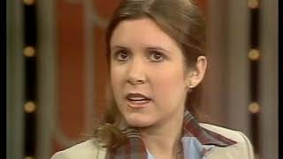 STAR WARS early talk show: Carrie Fisher, Mark Hamill, Harrison Ford