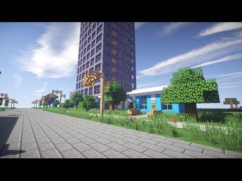 """Русский город в Minecraft - 37 - Магазин """"Футболка"""""""